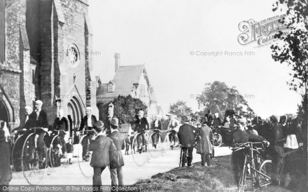 Photo of Woodford Green, Woodford Cycle Meet c.1890