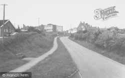 Woodford Halse, Approach To Village c.1965