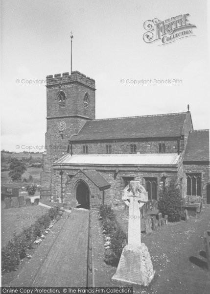 Photo of Woodford Halse, Church Of St Mary The Virgin c.1965