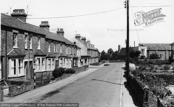 Photo of Woodford Halse, Church Street c.1965