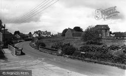 Woodford Halse, Manor House And Bridge c.1965