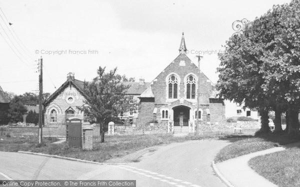 Photo of Woodford Halse, Methodist Church c.1965