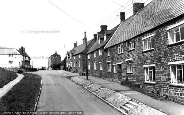 Photo of Woodford Halse, School Street c.1965