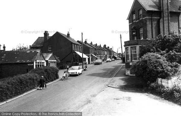 Photo of Woodford Halse, Station Road c.1965