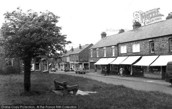 Photo of Woodford Halse, Station Road c.1965