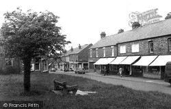Woodford Halse, Station Road c.1965