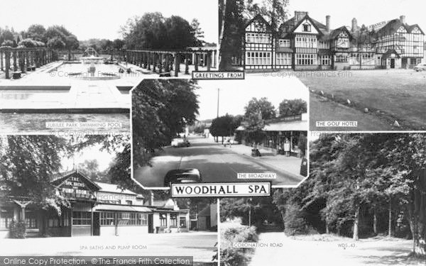 Photo of Woodhall Spa, Composite c.1960