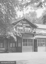 Entrance, The Spa Baths And Pump Room c.1955, Woodhall Spa