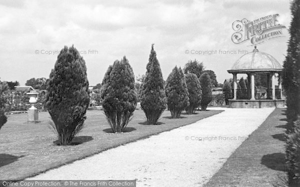 Photo of Woodhall Spa, Jubilee Park c.1955