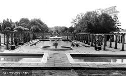 Jubilee Park Swimming Pool c.1960, Woodhall Spa