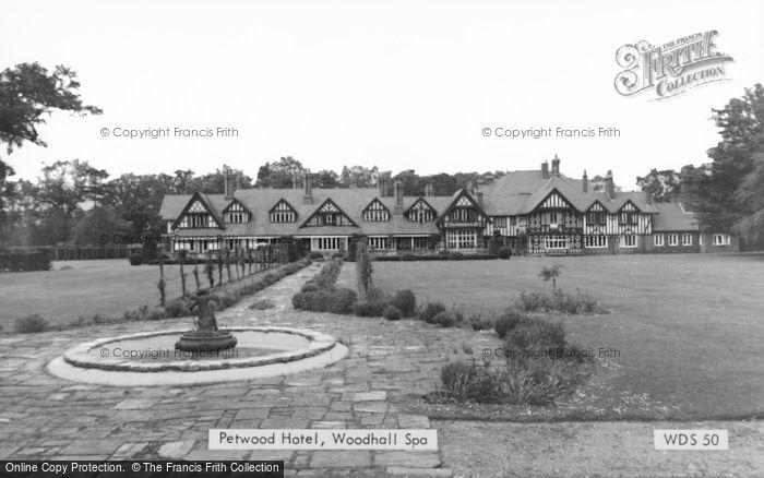 Photo of Woodhall Spa, Petwood Hall c.1960