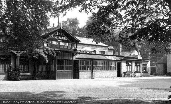 Photo of Woodhall Spa, Spa Baths And Pump Room c.1955