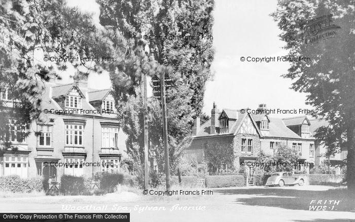 Photo of Woodhall Spa, Sylvan Avenue c.1950