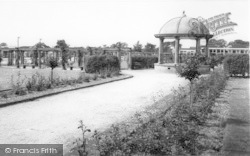 The Bandstand c.1965, Woodhall Spa
