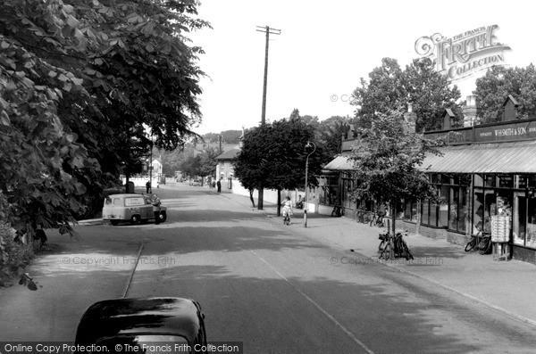 Photo of Woodhall Spa, The Broadway c.1960