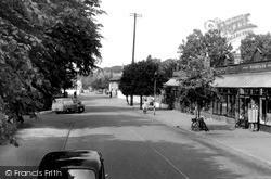 The Broadway c.1960, Woodhall Spa