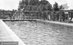 The Jubilee Pool c.1955, Woodhall Spa