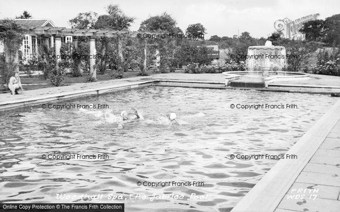Photo of Woodhall Spa, The Jubilee Pool c.1955