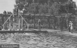 The Jubilee Pool Diving Board c.1955, Woodhall Spa