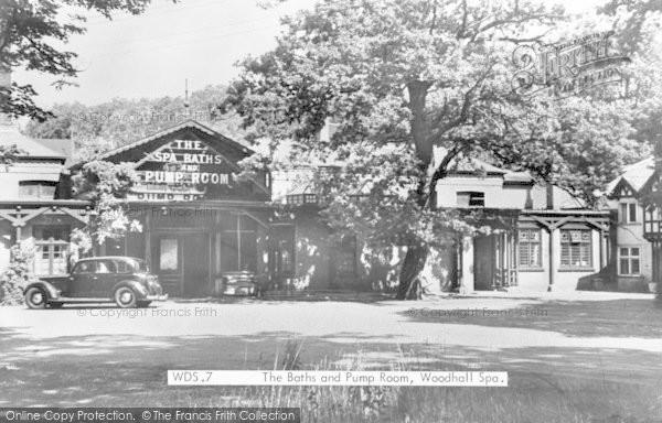 Photo of Woodhall Spa, The Spa Baths And Pump Room c.1950