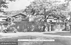 The Spa Baths And Pump Room c.1950, Woodhall Spa