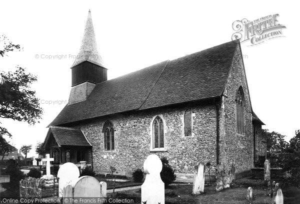 Photo of Woodham Mortimer, St Margaret's Church 1898