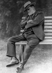 Mr George Cookson Of Woodham Grange c.1898, Woodham