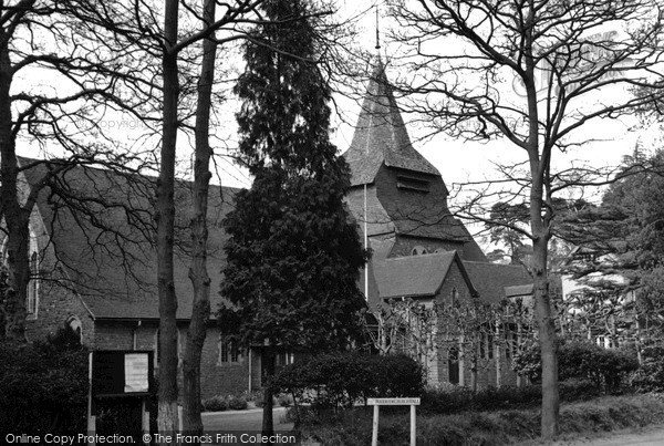 Photo of Woodham, The Church Hall c.1955