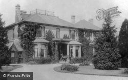 Woodham Grange c.1898, Woodham