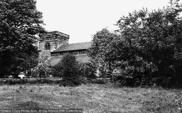 Photo of Woodhorn, Church Of St Mary The Virgin c.1960