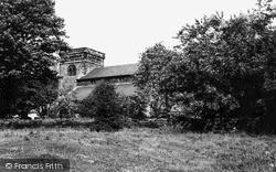Woodhorn, Church Of St Mary The Virgin c.1960