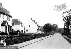 Woodhouse Eaves, Beacon Road c.1955