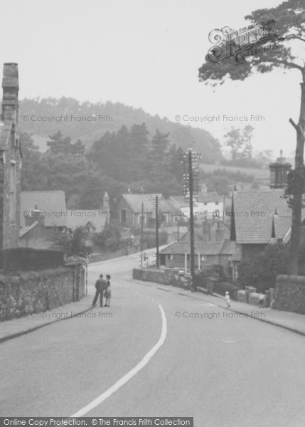 Photo of Woodhouse Eaves, Church Hill c.1955