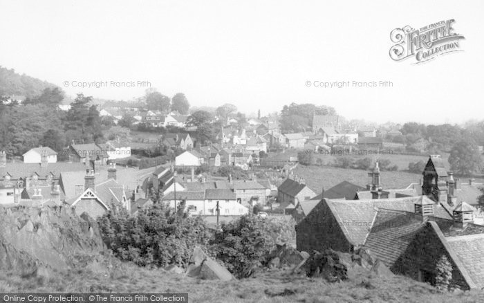Photo of Woodhouse Eaves, General View c.1960