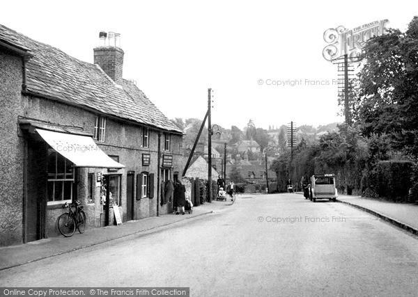 Photo of Woodhouse Eaves, Main Street c.1955