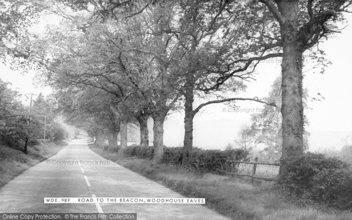 Photo of Woodhouse Eaves, Road To The Beacon c.1965