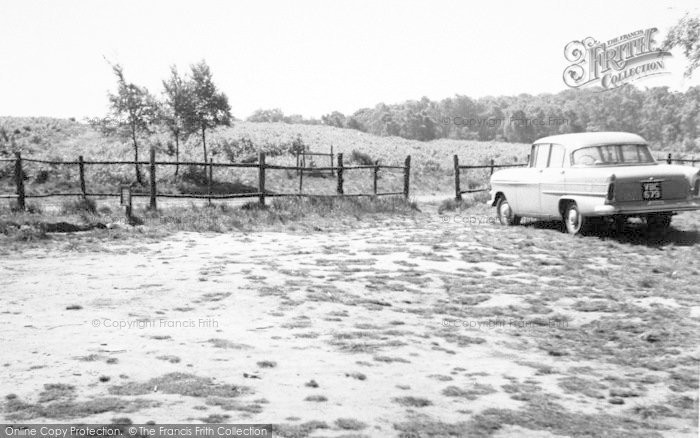 Photo of Woodhouse Eaves, The Car Park c.1960
