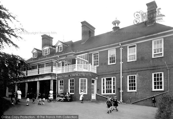 Photo of Woodhouse Eaves, the Children's Convalescent Home c1955