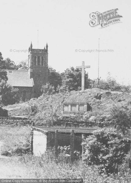 Photo of Woodhouse Eaves, The Church And Memorial c.1960