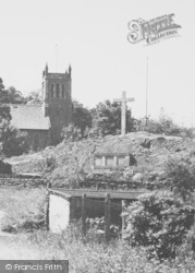 Woodhouse Eaves, The Church And Memorial c.1960