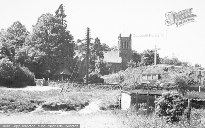Photo of Woodhouse Eaves, The Church c.1960