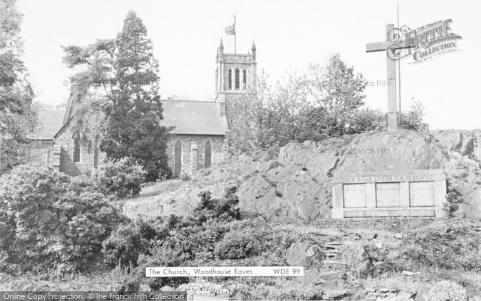 Photo of Woodhouse Eaves, The Church c.1965