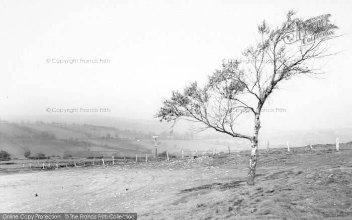 Photo of Woodhouse Eaves, View From Beacon Hill Summit c.1960