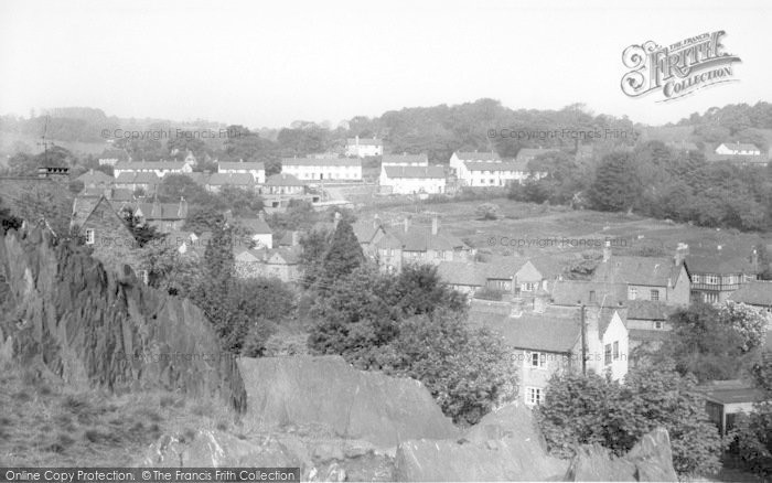 Photo of Woodhouse Eaves, View From Memorial Hill c.1965