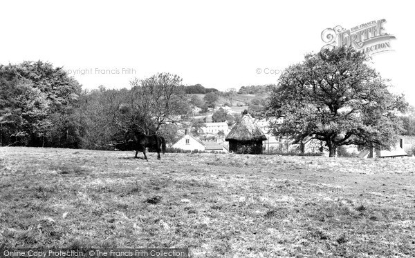 Photo of Woodhouse Eaves, View From Nanhill Road c.1965