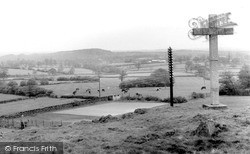 Woodhouse Eaves, View From The Memorial c.1955