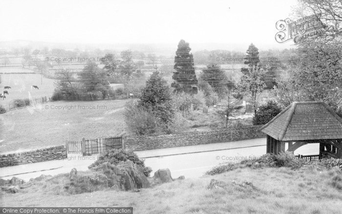 Photo of Woodhouse Eaves, View From The Memorial c.1955