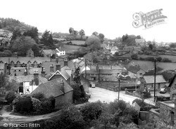 Woodhouse Eaves, Village From The Memorial c.1955