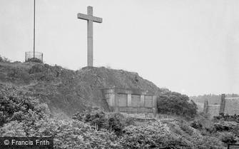 Woodhouse Eaves, War Memorial c1955