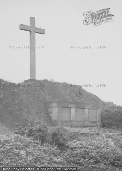Photo of Woodhouse Eaves, War Memorial c.1955